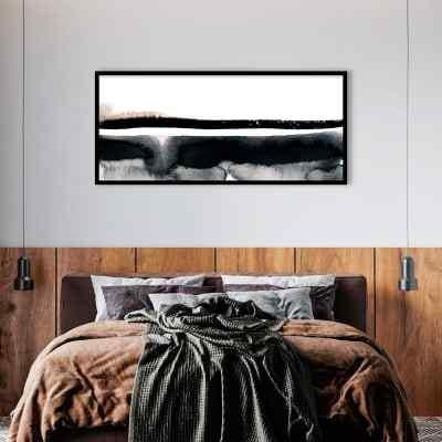 Quadro Tons de Cinza panoramico por Lucas Santos