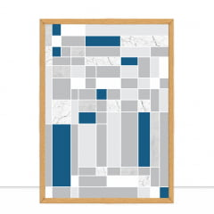 Quadro Trilha Classic Blue por Larissa Ferreira