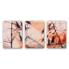 Quadro Trio Suave I, II e III por Joel Santos