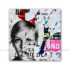 Quadro Twiggy London culture por Bibiana Lima