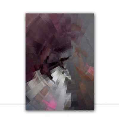 Quadro Violet Zoom III por Patricia Costa
