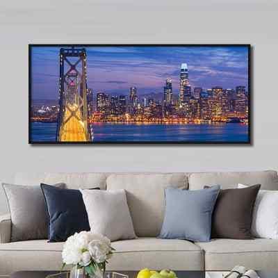 Quadro Vista de San Francisco por Tiago Ignowski