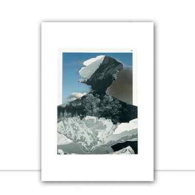 Quadro Volcano por Beto Shibata