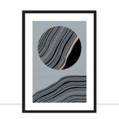 Quadro Wind Lines Circle por Joel Santos