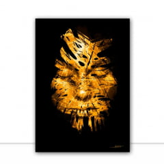 Quadro X woman Gold II por Joel Santos
