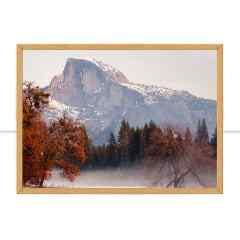 Quadro Yosemite em vermelho I por Mafe Romero