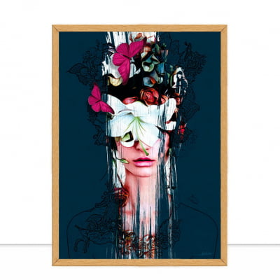 Woman Pencil Flower Full por Joel Santos